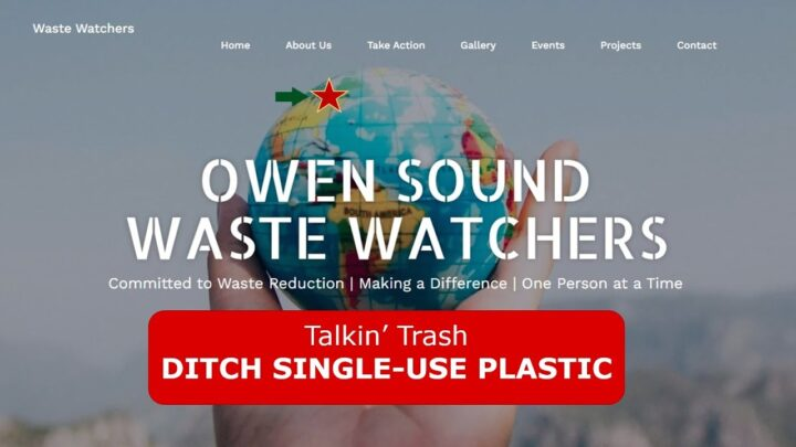 OSWW Education Series:  Ditch Single Use Plastic