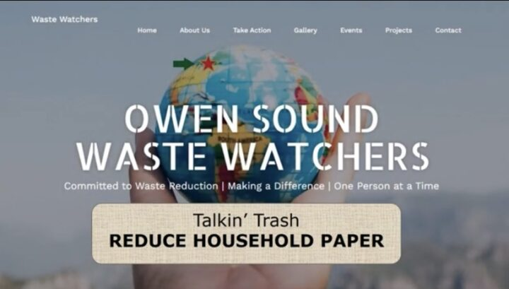 OSWW Video Education Series:  Reduce Household Paper